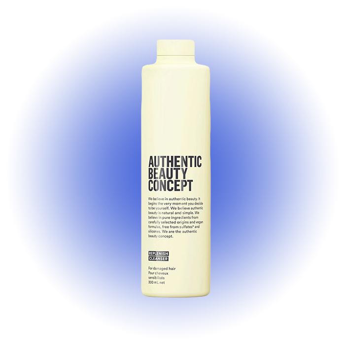 Шампунь для поврежденных и хрупких волос Replenish Cleanser, Authentic Beauty Concept