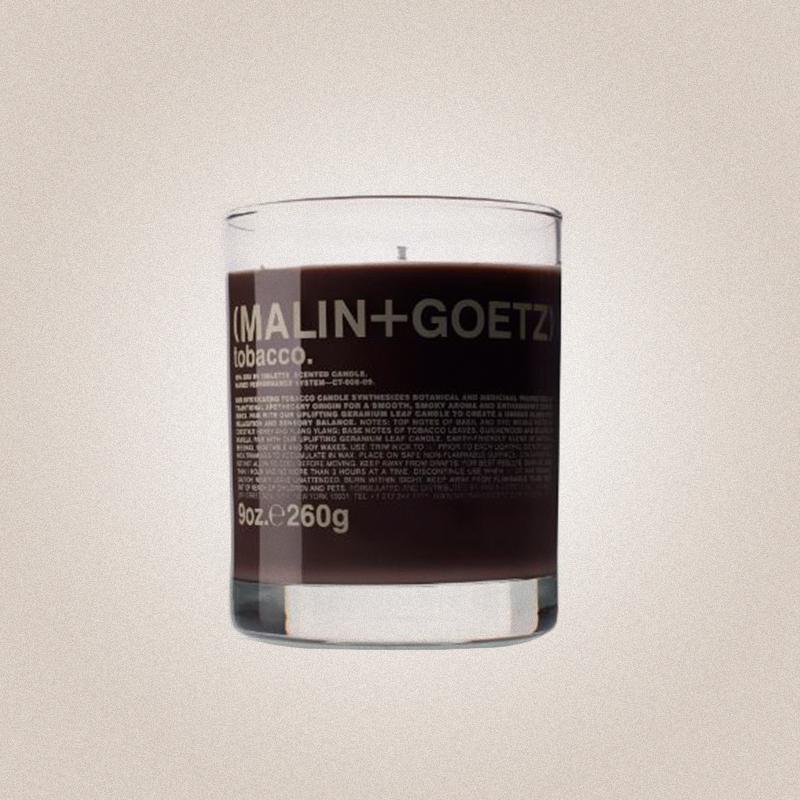 Парфюмированная свеча Tobacco, Malin+Goetz