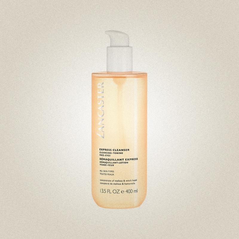 Экспресс-очищающее средство 3 в 1 для всех типов кожи Express Cleanser Face-Eyes All Skin Types, Lancaster