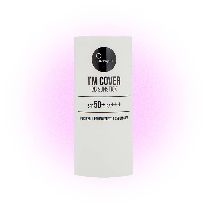 Солнцезащитный BB-стик SPF 50+ PA+++ I'm Cover BB Sunstick, Suntique