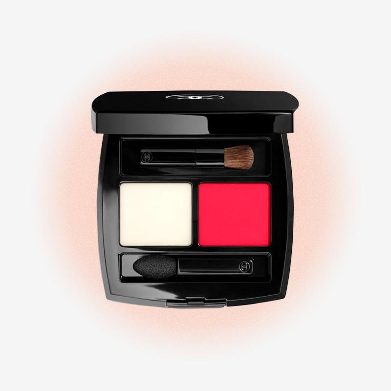 Бальзам и пудра для губ Palette Lèvres, Rosso Parthenope, Chanel