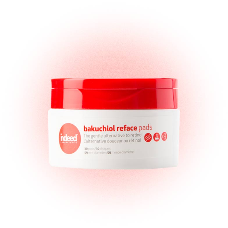 Диски Bakuchiol Retinol Reface Pads, Indeed Labs