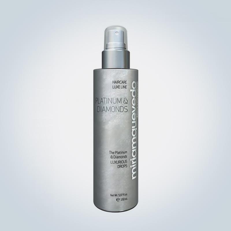 Спрей-люкс для волос Platinum&Diamonds, Miriam Quevedo