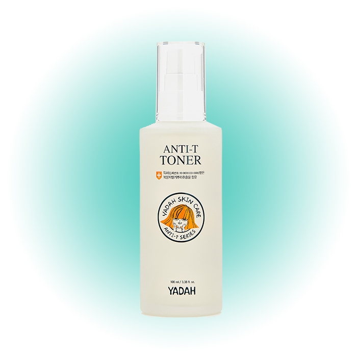 Успокаивающий тонер для чувствительной кожи Anti-T Toner Soothing, Yadah