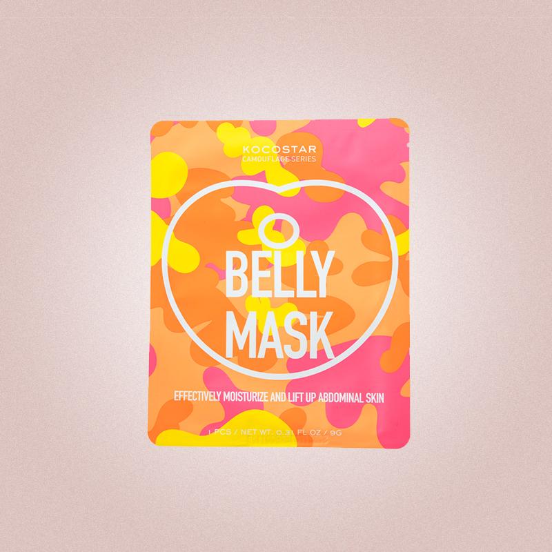 Маска для живота с термоэффектом для похудения Camouflage Belly Mask, Kocostar