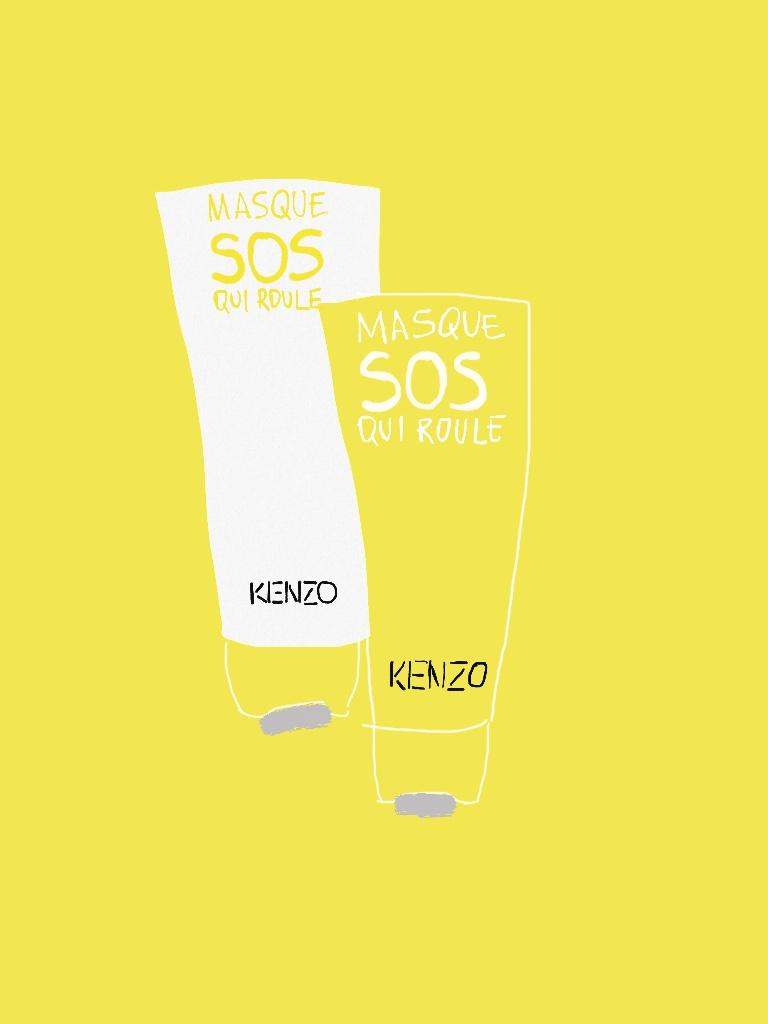 Маска SOS Kenzo