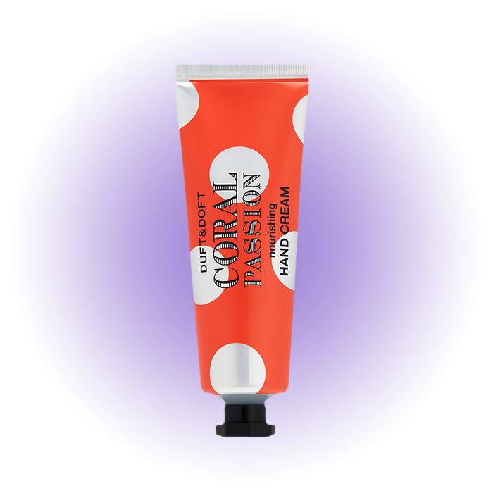 Увлажняющий крем для рук Coral Passion, Duft & Doft