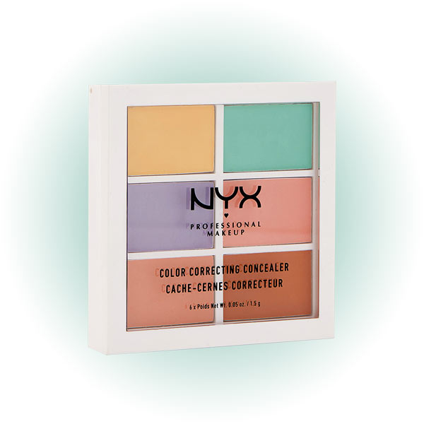 Color correcting Palette, 04, NYX Professional Makeup