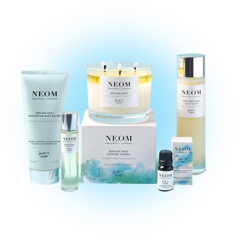 Органическая косметика для улучшения качества сна, NEOM