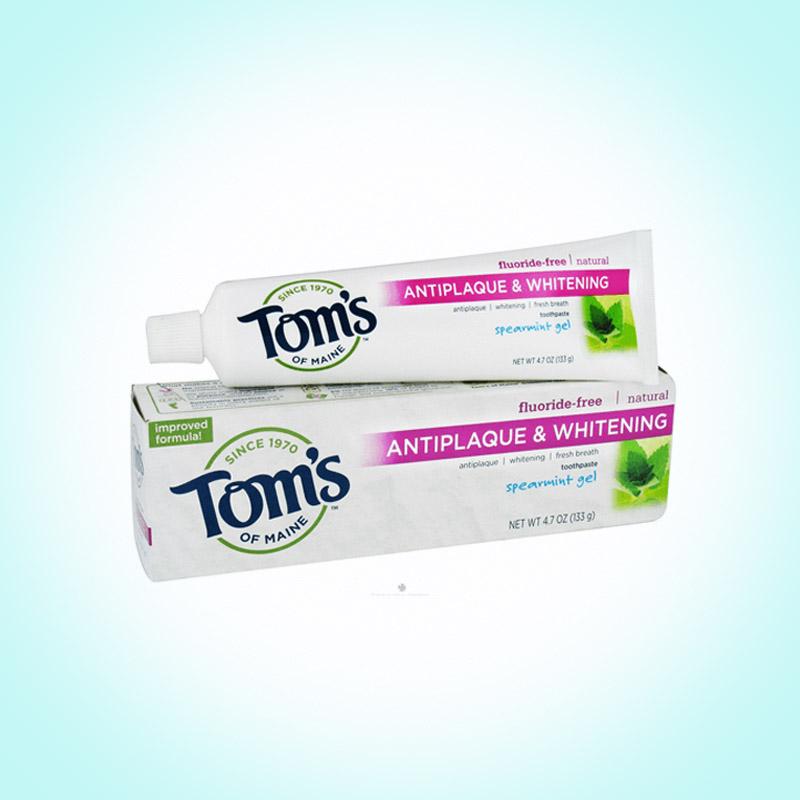 Зубная паста в экологичном пластике, Tom's of Maine