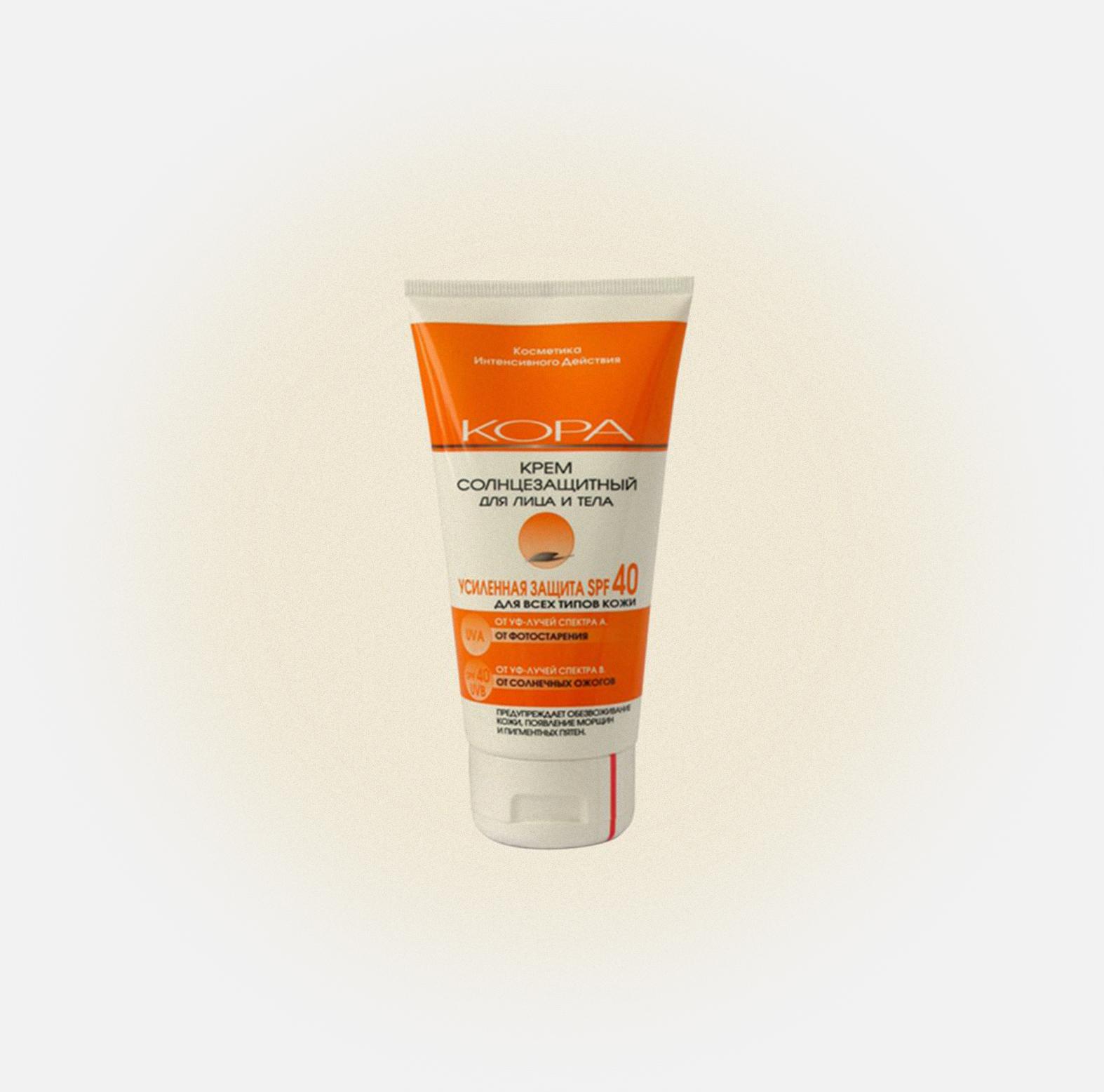 Солнцезащитный крем для лица и тела SPF 30, Кора