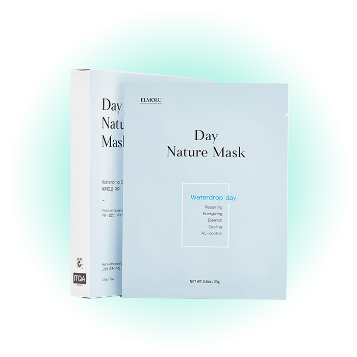 Набор увлажняющих масок Waterdrop Day Nature Mask, Elmolu