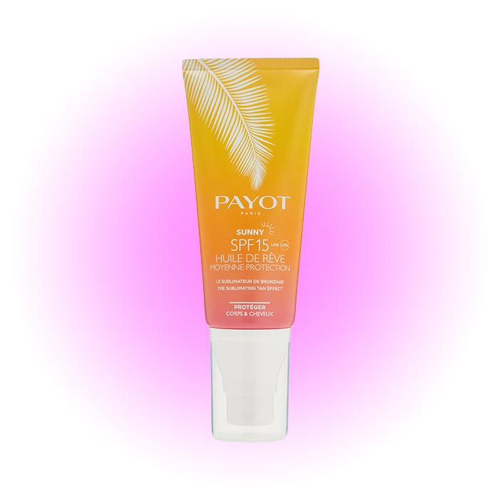 Солнцезащитное сухое масло для тела и волос Sunny Huile De Rêve, Payot