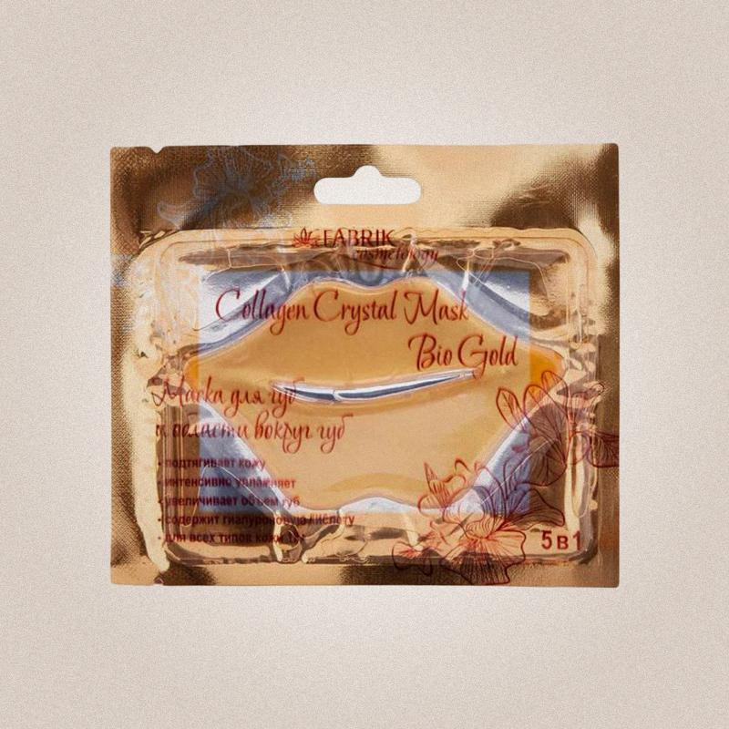 Маска для губ с биозолотом, Fabrik Cosmetology