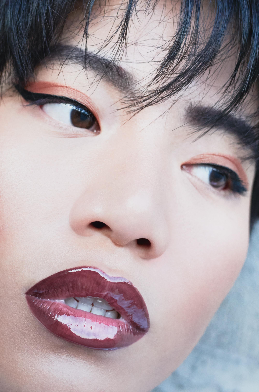 Сияющая помада I'm, 107 Litchi, блеск для губ Miss Pupa Gloss, 101 pearly clear