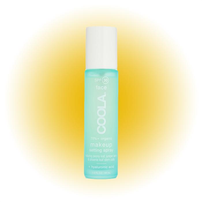 Фиксирующий спрей для макияжа, Coola SPF 30+