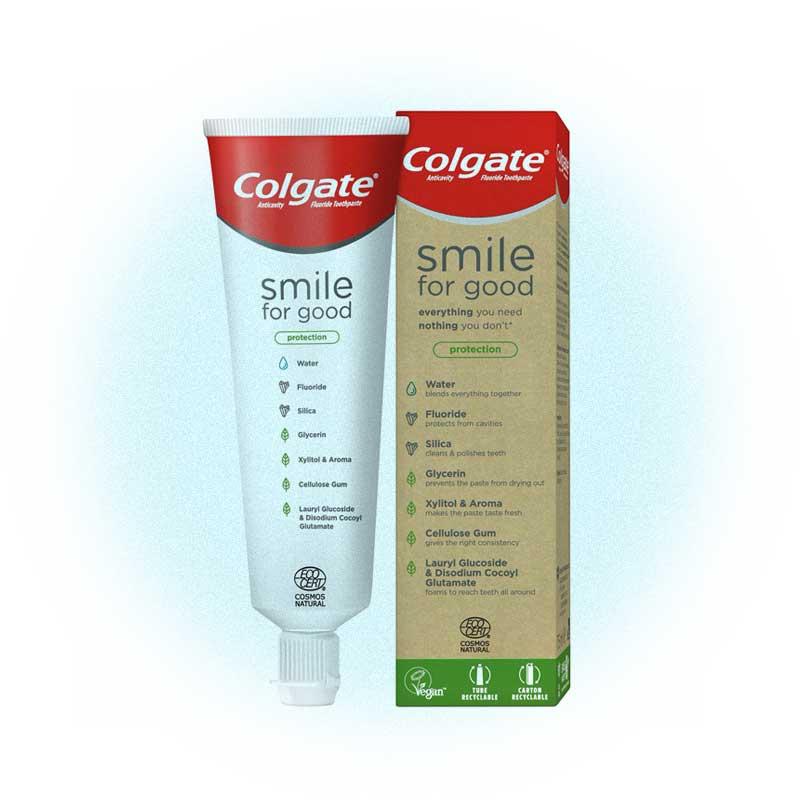 Экологичная зубная паста, Colgate-Palmolive