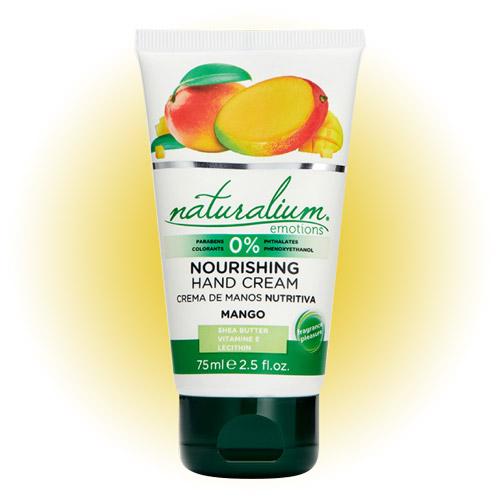 Питательный крем для рук Mango, Naturalium