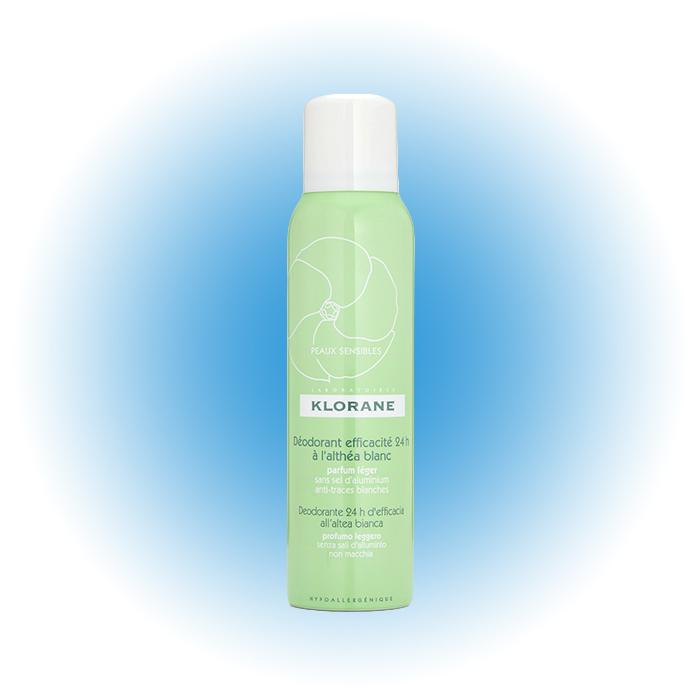 Дезодорант-спрей D'efficacia, Klorane