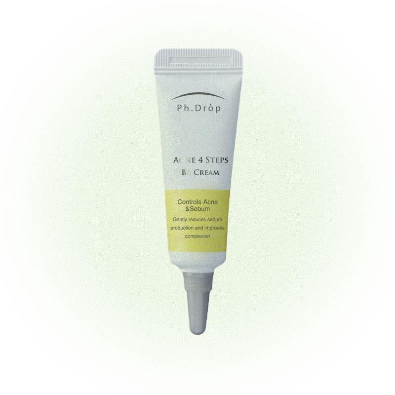 Матирующий BB-крем для жирной кожи Acne 4 Steps BB Cream, Ph. Drop