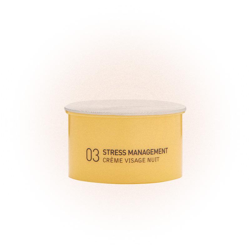 Ночной крем для комбинированной и жирной кожи 03 Stress Management, My Blend
