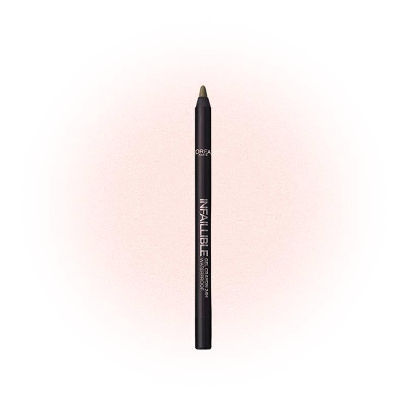 Гелевый карандаш для глаз Infaillible Gel Crayon 24H Waterproof #008 Rest In Kaki, L'Oreal