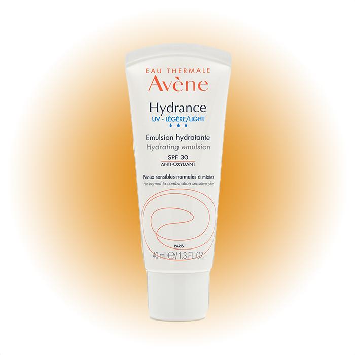 Легкая эмульсия Hydrance UV Legere SPF 30, Avène