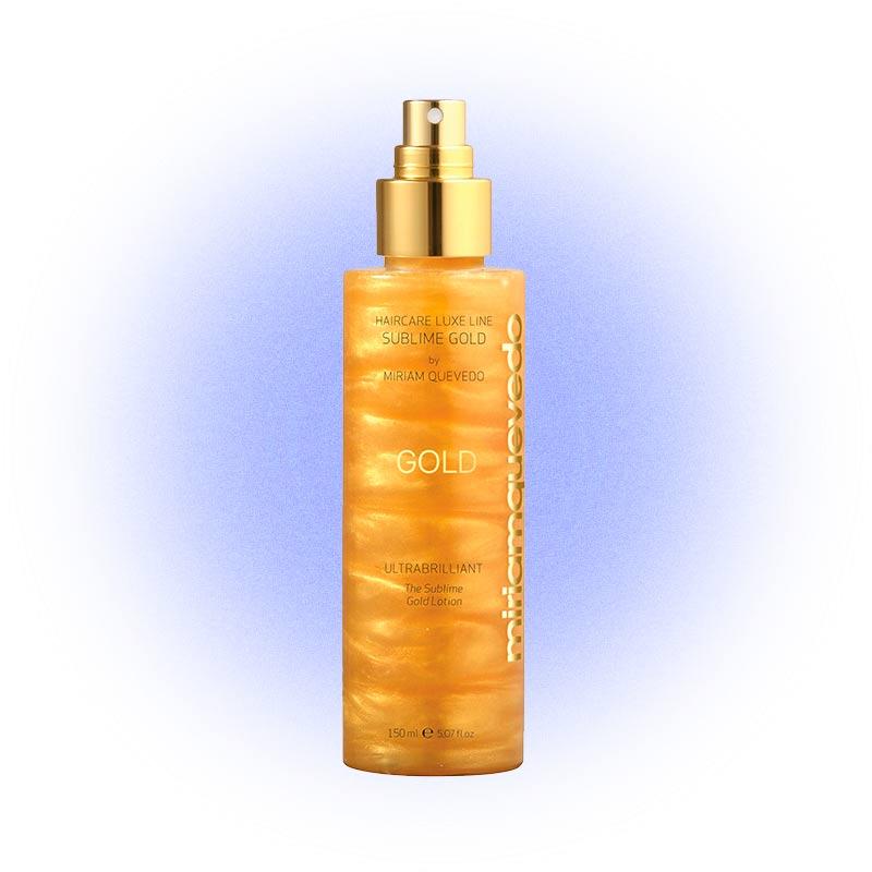 Спрей для волос Ultra Brilliant The Sublime Gold Lotion, Miriam Quevedo