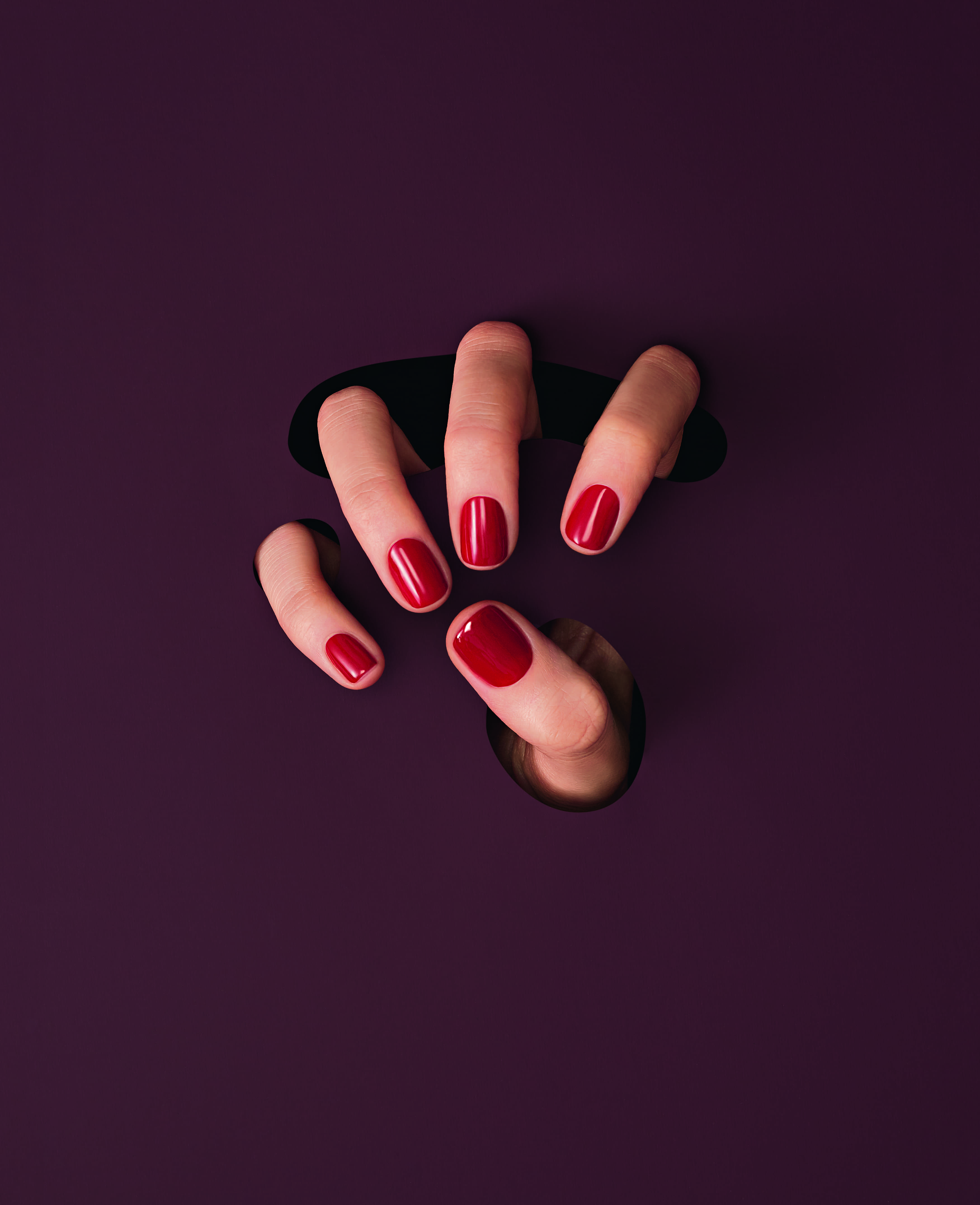 Ногти с лаком Vernis 152 Nomme Desir, Lancôme
