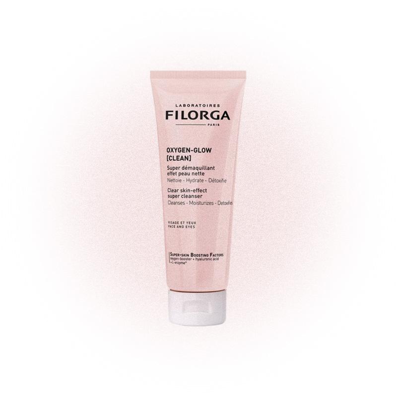 Желе очищающее для лица и области вокруг глаз Oxygen Glow Clean, Filorga