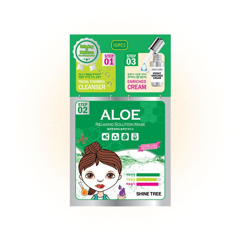 Relaxing Solution Mask Aloe от Shinetree