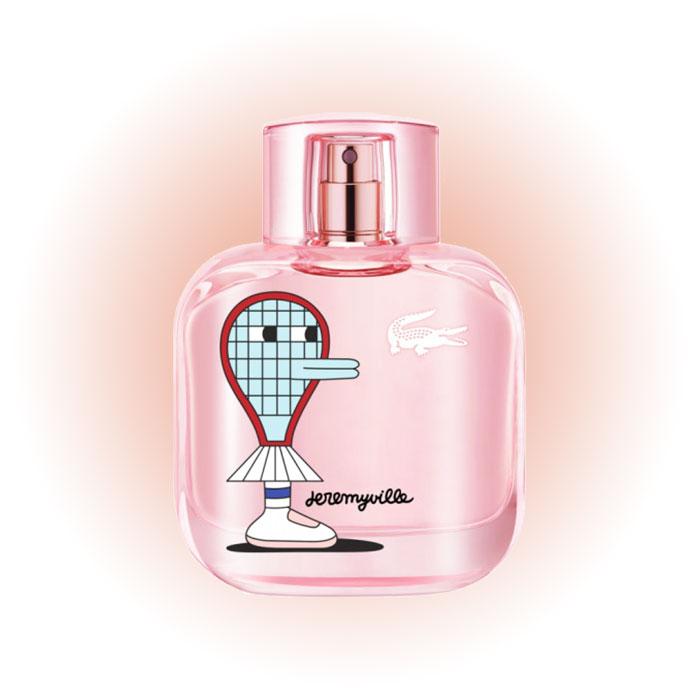 Цветочный Eau de Lacoste L.12.12 Sparkling Collector Edition Pour Femme x Jeremyville, Lacoste