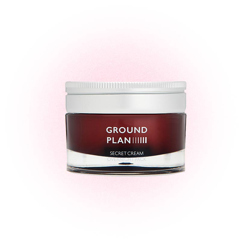 Крем Secret Cream Overnight Pack, Ground Plan