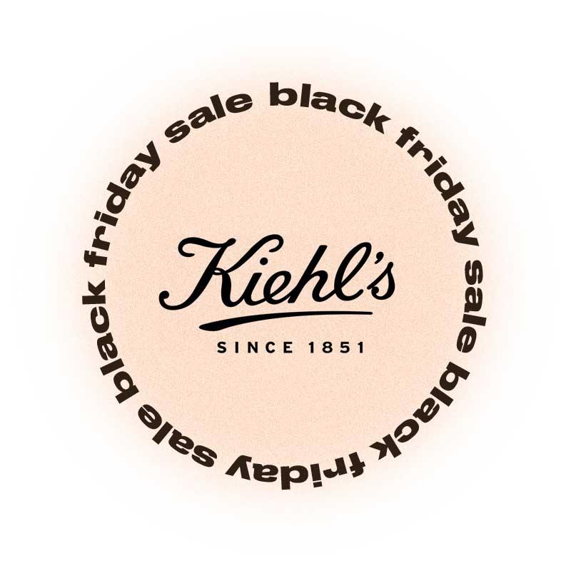 Черная пятница Kiehl's