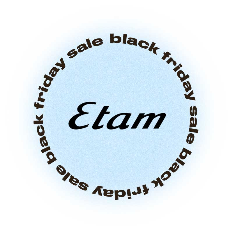 Черная пятница Etam