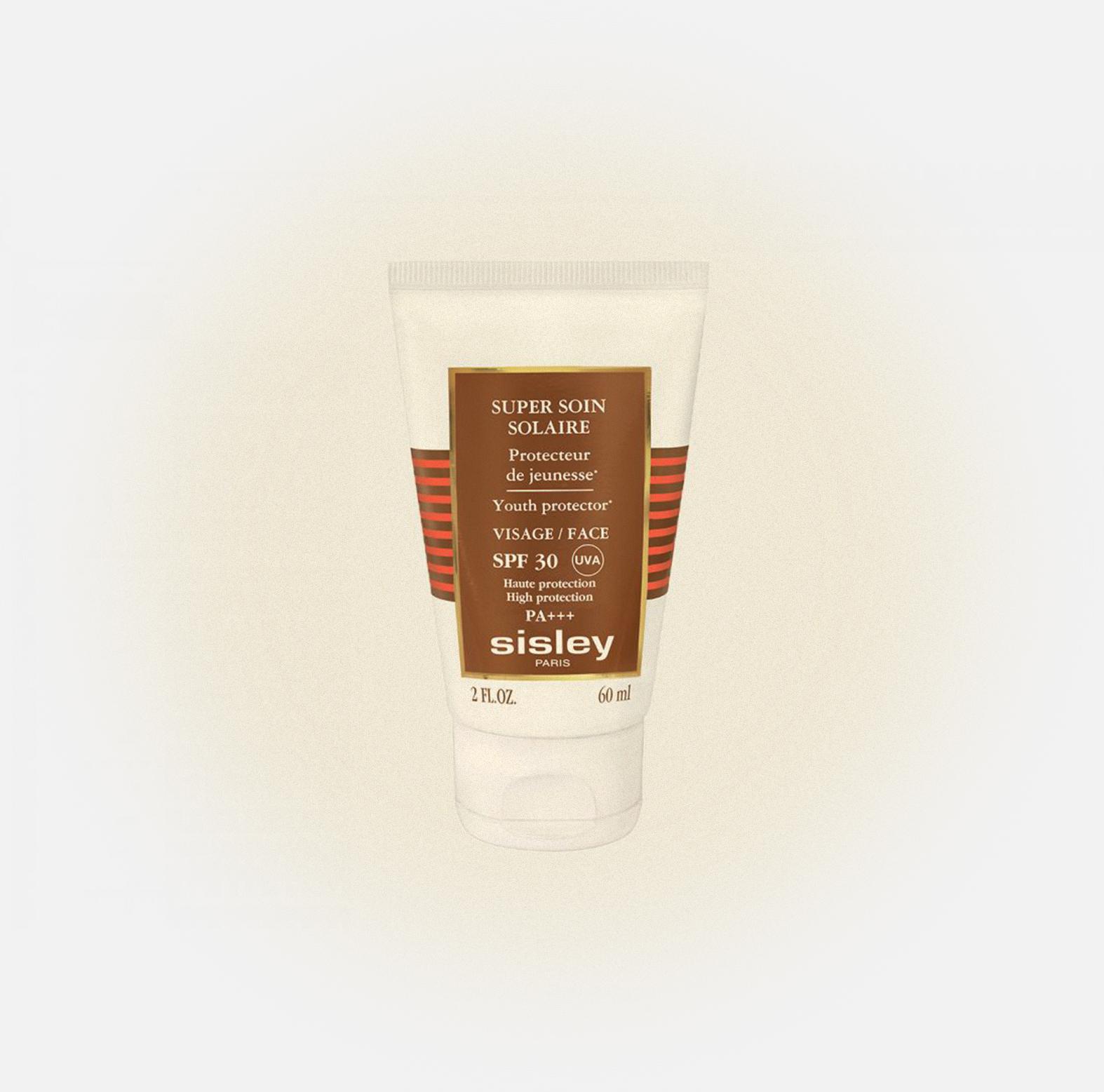 Солнцезащитный крем для лица Super Soin Solaire Protecteur de Jeunesse, Sisley