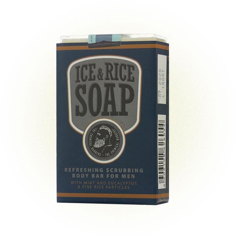 Освежающее мыло со скрабом, The Chemical Barbers Ice & Rice