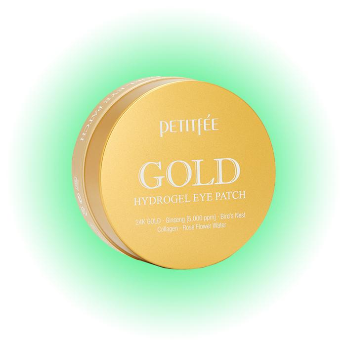 Гидрогелевые патчи Gold Hydrogel Eye Patch, Petitfée