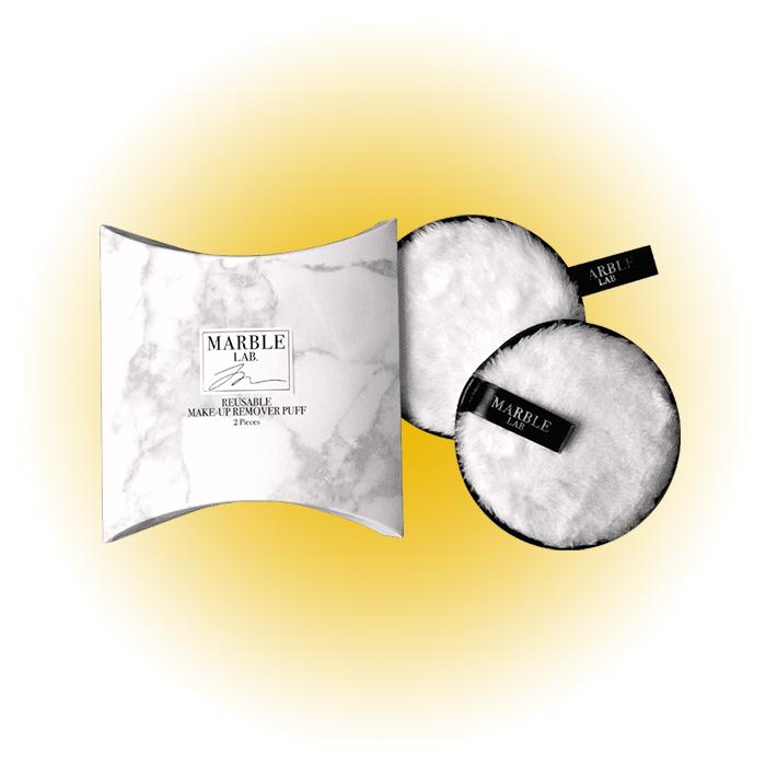 Паффы для снятия макияжа, Marble Lab