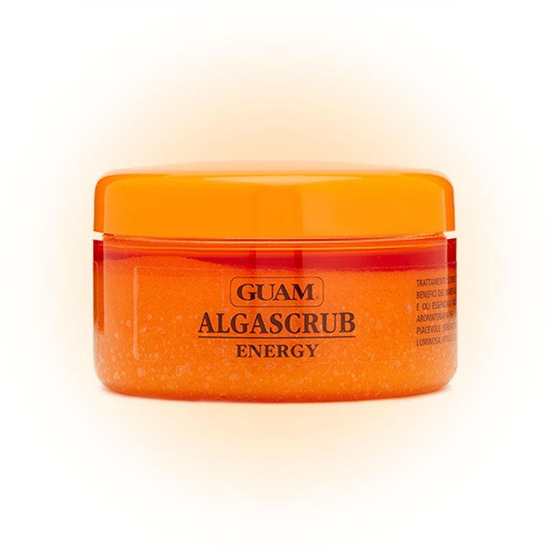 Скраб с эфирными маслами «Энергия и тонус» Algascrub Energy, Guam