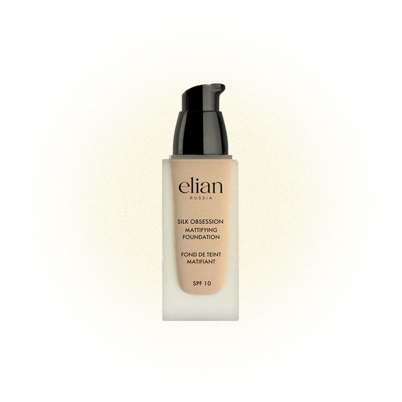 Тональное средство Silk Obsession Mattifying Foundation SPF 10, Elian Russia