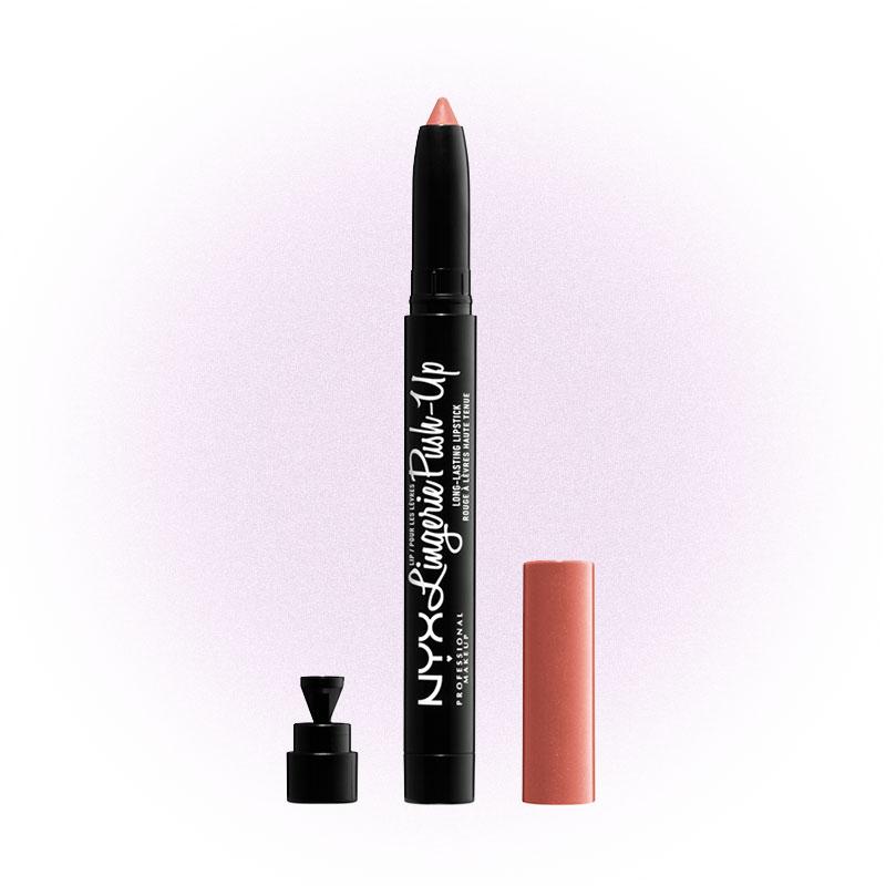 Матовая помада-карандаш с эффектом увеличения объема Lip Lingerie Push-Up, NYX Professional MakeUp