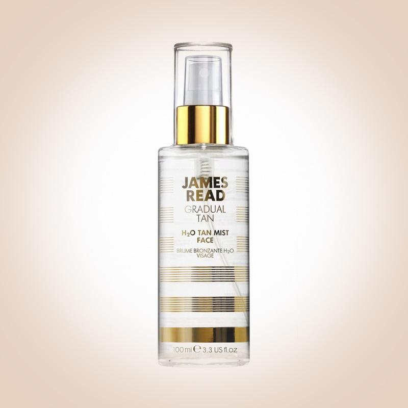 Спрей для лица с эффектом сияния Gradual Tan H2O Tan Mist Face, James Read