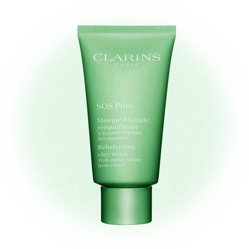 Очищающая маска с экстрактом кипрея SOS Pure, Clarins