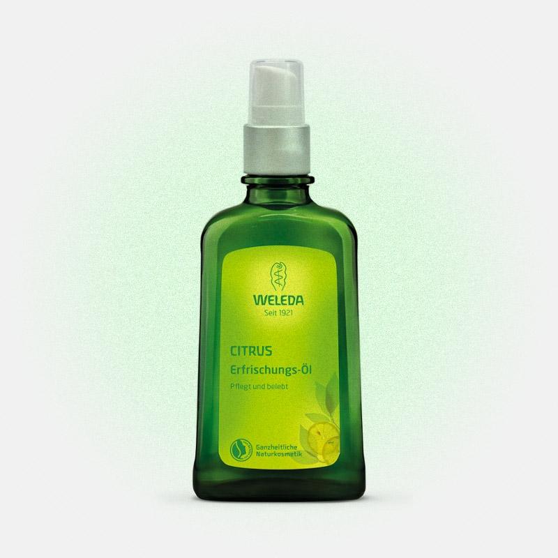 Цитрусовое освежающее масло для тела, Weleda