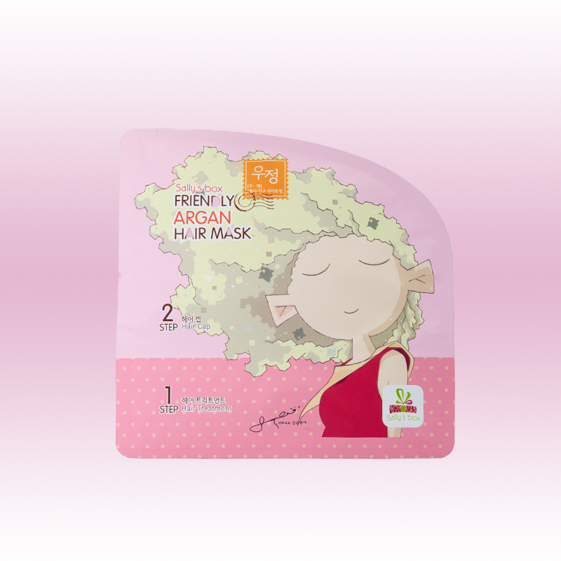 Тканевая маска для волос, Sally's Box