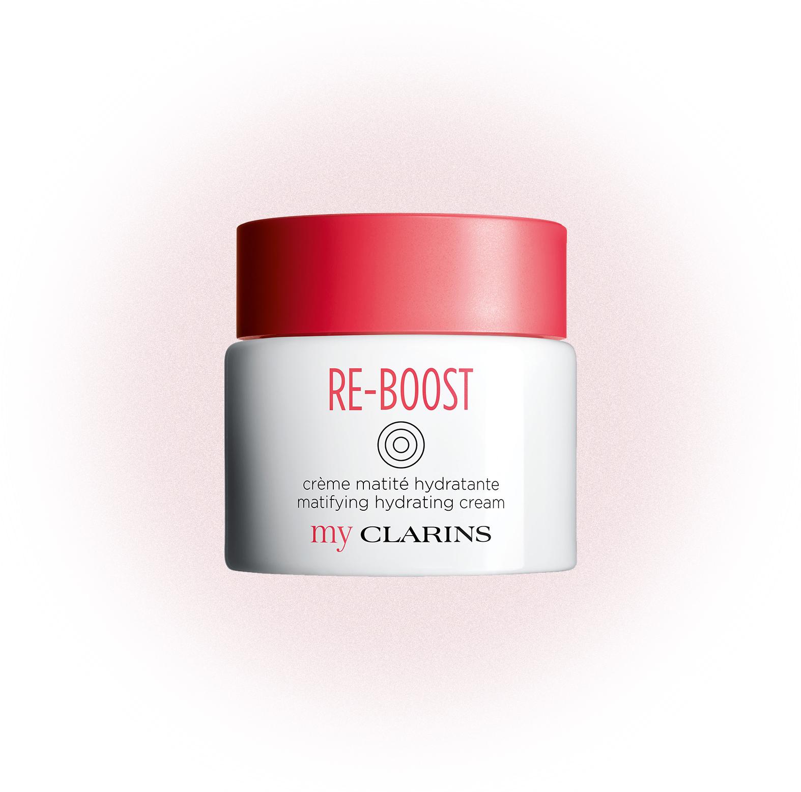 Матирующий крем для молодой кожи Re-Boost, My Clarins