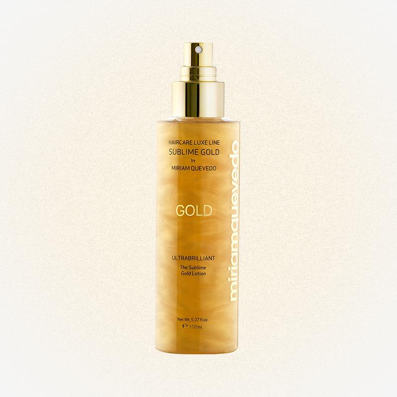 Спрей-лосьон для волос MYRIAM золотой