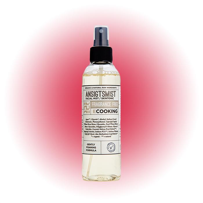 Спрей-мист для лица без отдушки Fragrance Free, Ecooking