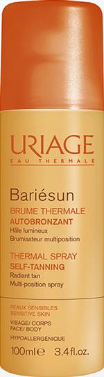 Термальный спрей-автобронзант Bariésun, Uriage